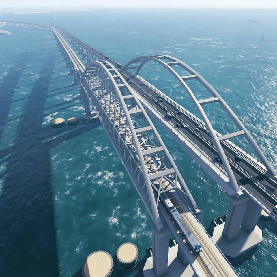 Названа рекордная скорость при нарушении на Крымском мосту