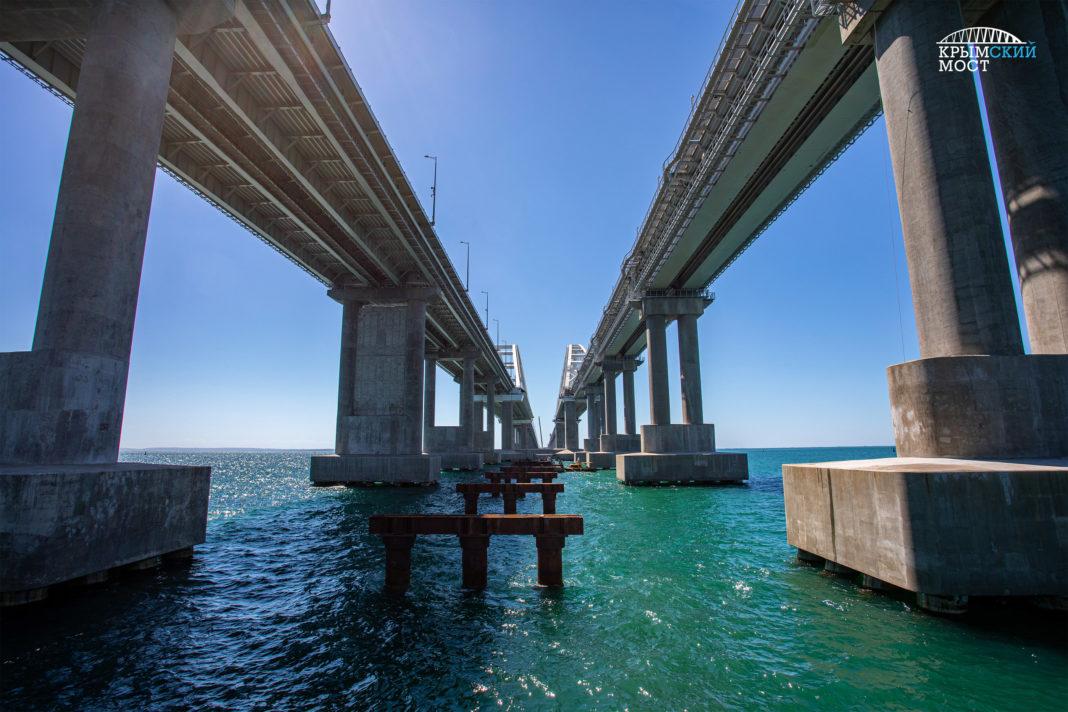 Керченский мост последние новости фото